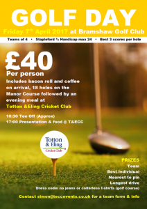 Golf Society Day - Bramshaw Golf Club
