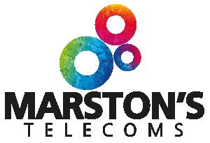 Marstons Telecoms Logo - Club Sponsor